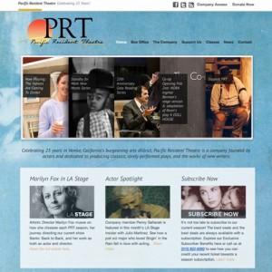 Theatre WordPress Website