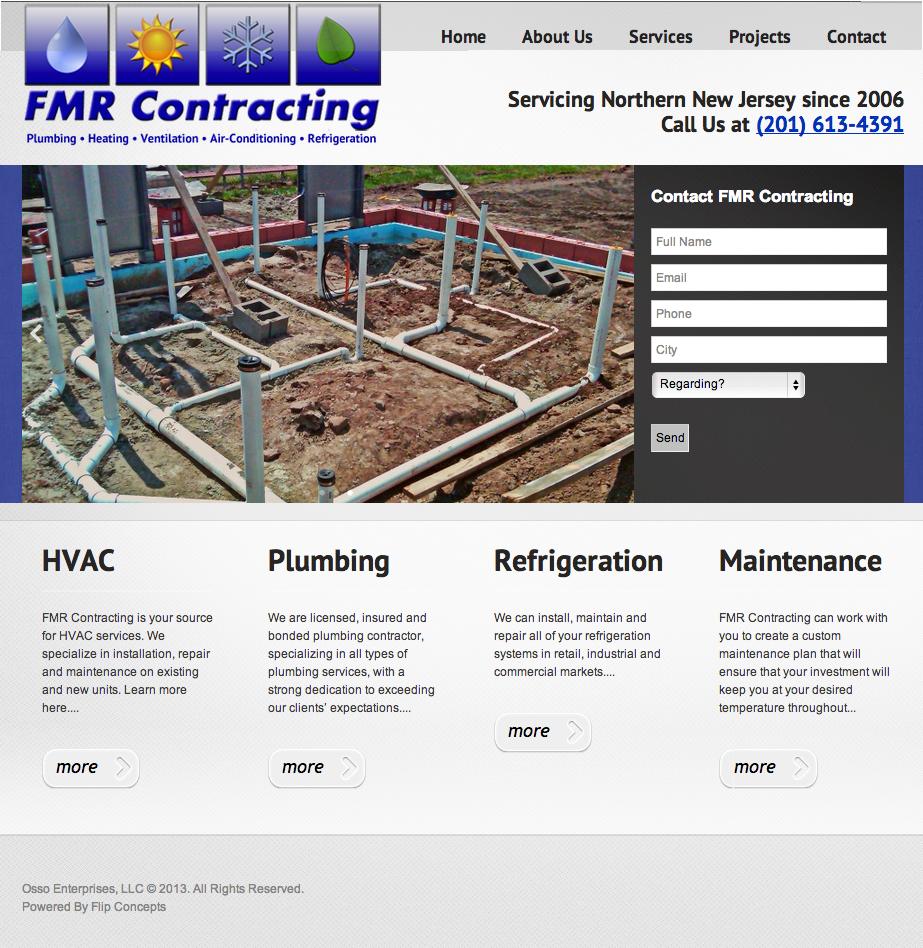 Air Conditioning & Plumbing Repair Website WordPress
