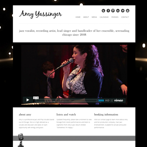 Jazz Artist Website WordPress