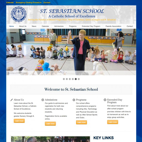 Private School Website Wordpress