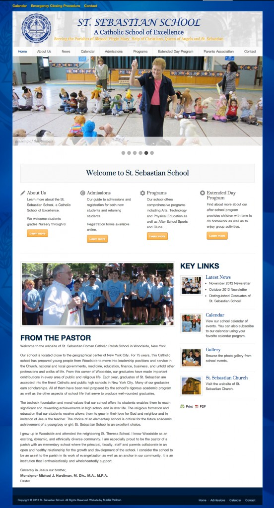 Private School WordPress Website