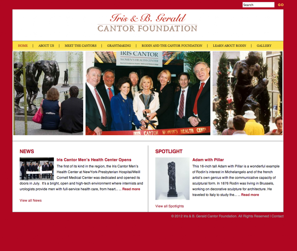 WordPress website for Philanthropic Organization Non-profit