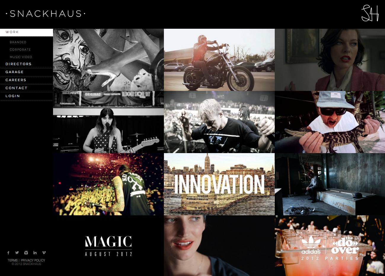 Video Portfolio WordPress Website - Media Parlour
