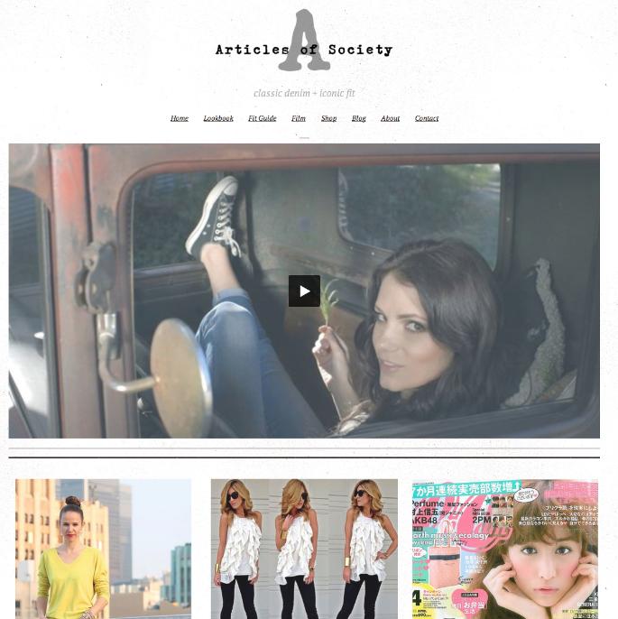 Denim Company WordPress Website