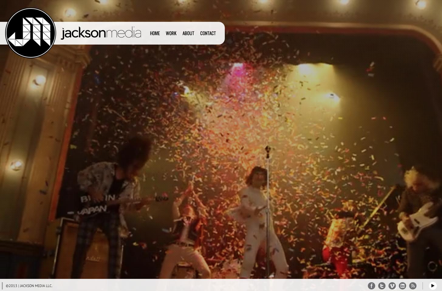 Media Company Video Portfolio WordPress