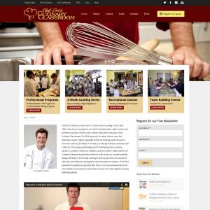 Culinary Classroom WordPress Plus Infusionsoft