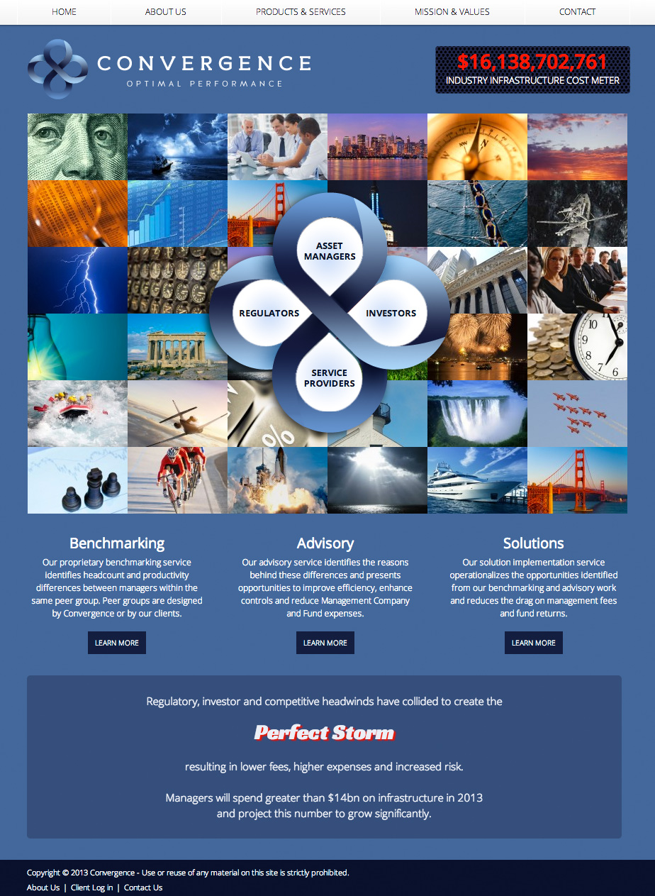 Asset Management Consultant Website HTML5