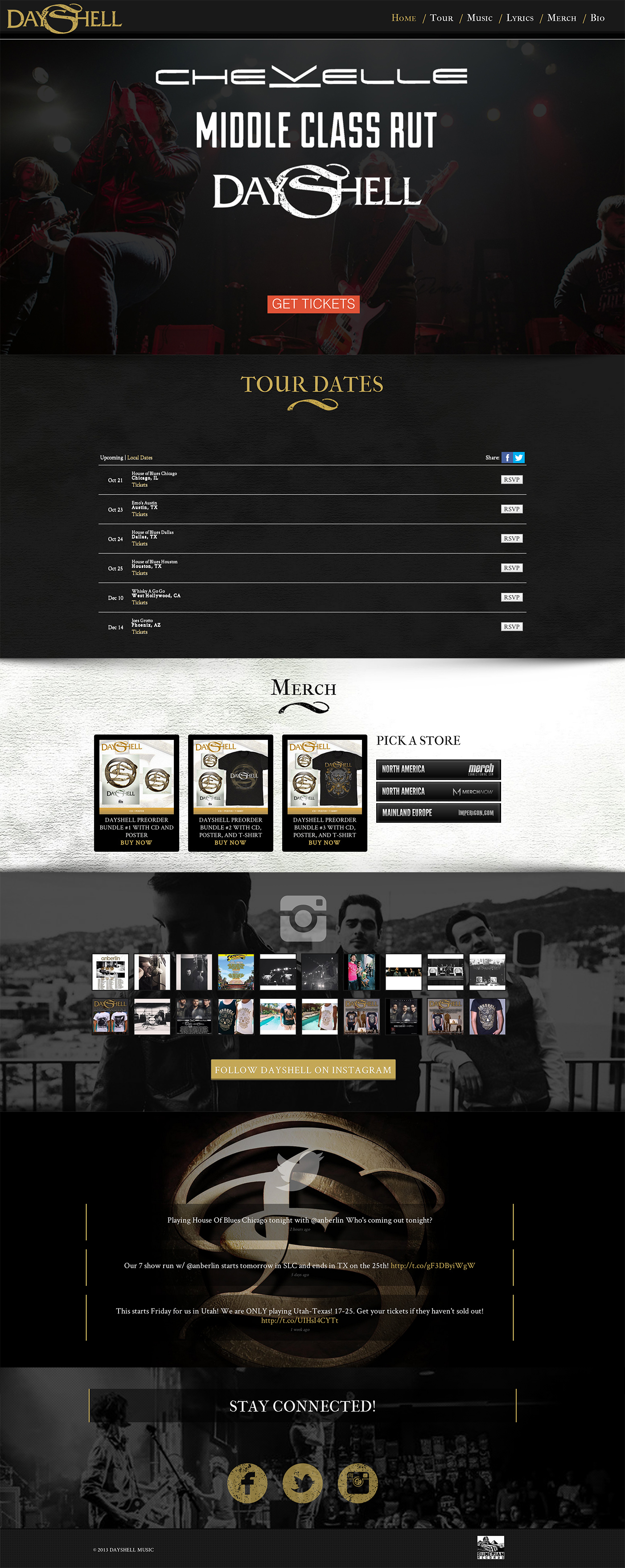 Metal Band Responsive WordPress Website
