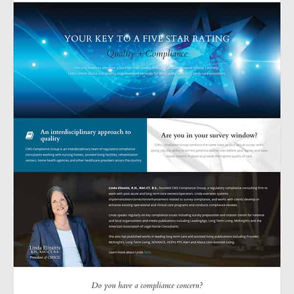 Compliance Agency WordPress Website