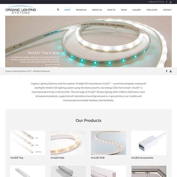 Industrial Catalog WordPress Website