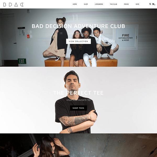 Unisex Brand Shopify Store