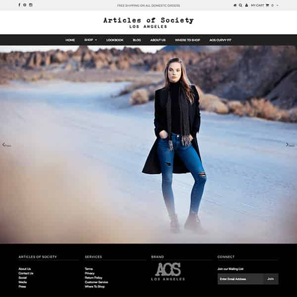 Denim Shopify E-Commerce Design