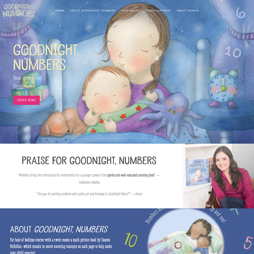 Children's Book WordPress Website