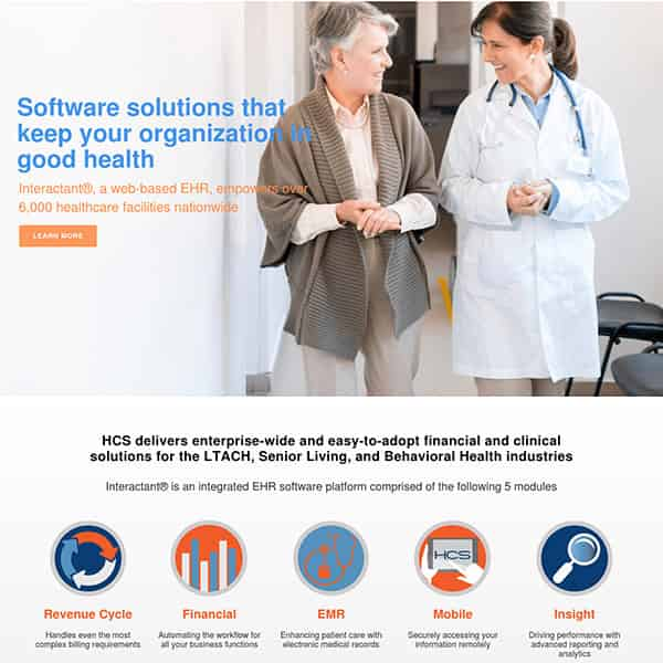 Healthcare IT Company WordPress Website